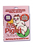 Ms Piglet Party Pig